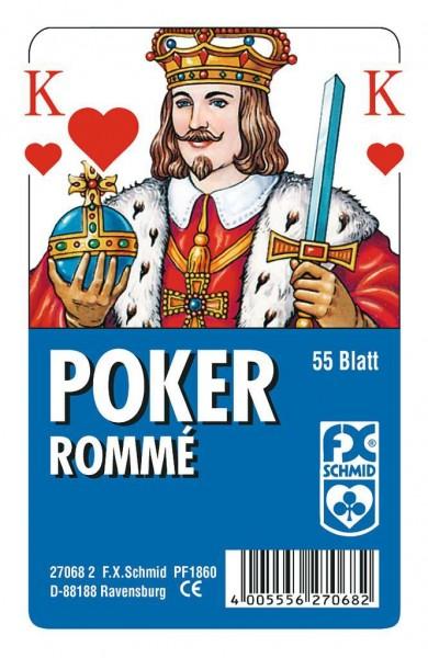 Poker Rommé Französisches Bild