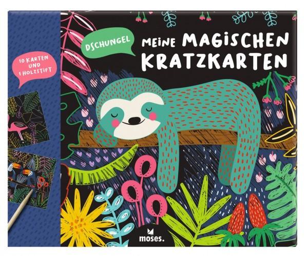 Meine Magischen Kratzkarten Dschungel