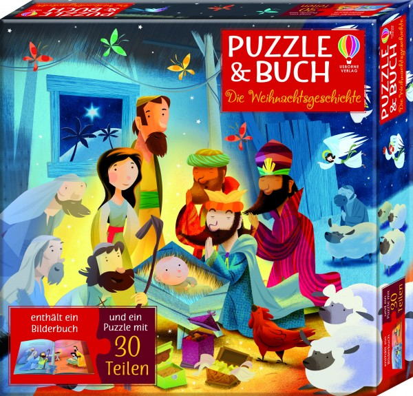 Sam Smith, Puzzle & Buch: Die Weihnachtsgeschichte