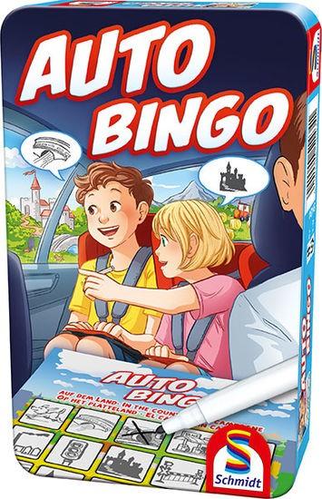 Auto Bingo, Bring-Mich-Mit-Spiel in Metalldose