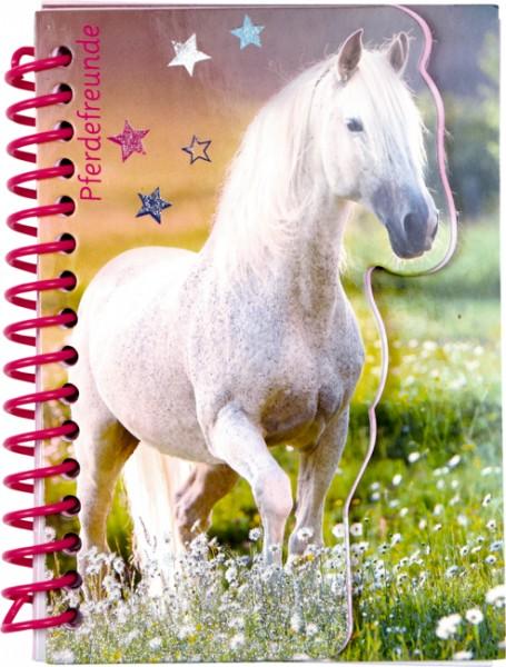 Pferdefreunde Notizbuch (mit Stickerbogen)