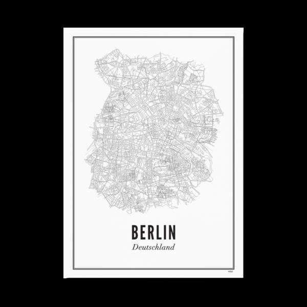 Poster BERLIN - STADT 30 x 40 cm