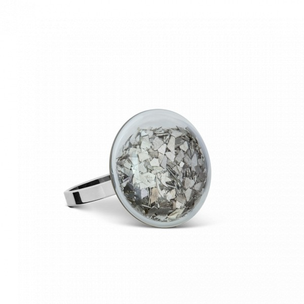 GLASRING - GALET MINI PAILLETTES