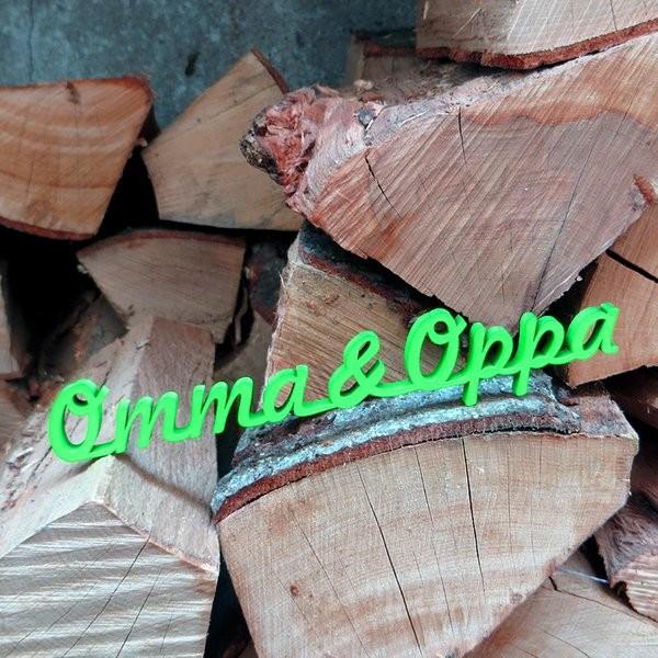 NOGALLERY Omma & Oppa - grau