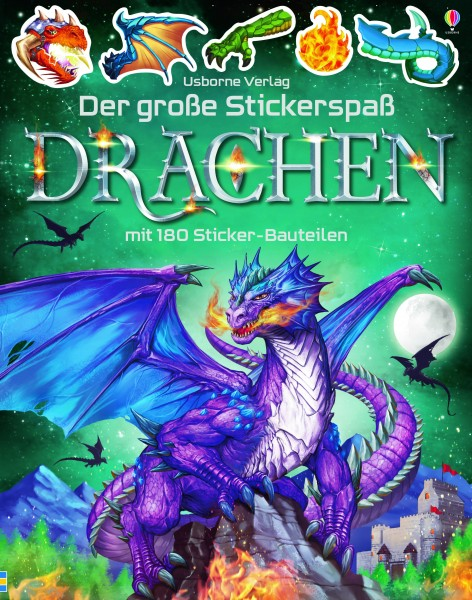Simon Tudhope, Der große Stickerspaß: Drachen