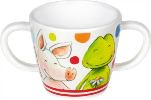 Die Lieben Sieben Melamin-Tasse mit 2 Henkeln