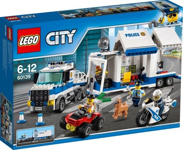 LEGO® City 60139 Mobile Einsatzzentrale, 374 Teile