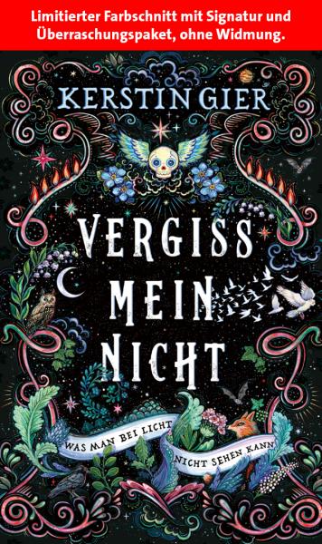 Kerstin Gier - Vergissmeinnicht (signiert + Überraschung)