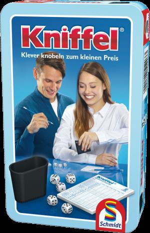 Kniffel®, Bring-Mich-Mit-Spiel in Metalldose