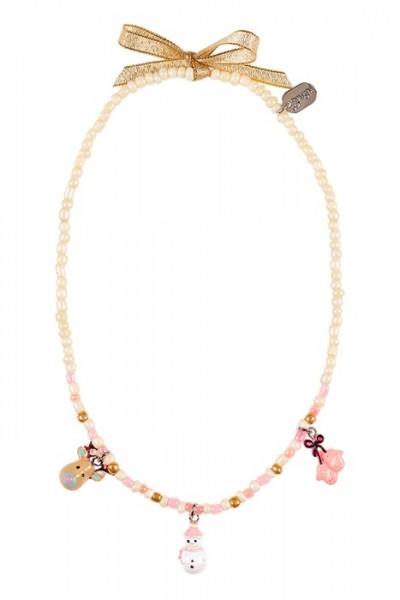 Halskette Paulina mit Anhängern / Charms