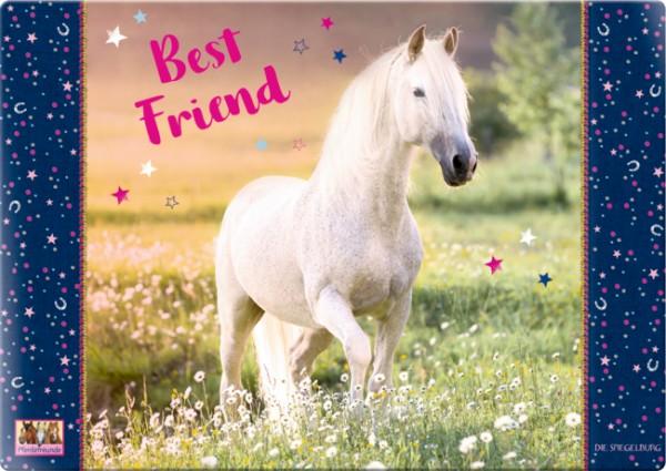 """Pferdefreunde Schreibtischauflage """"Best Friend"""""""