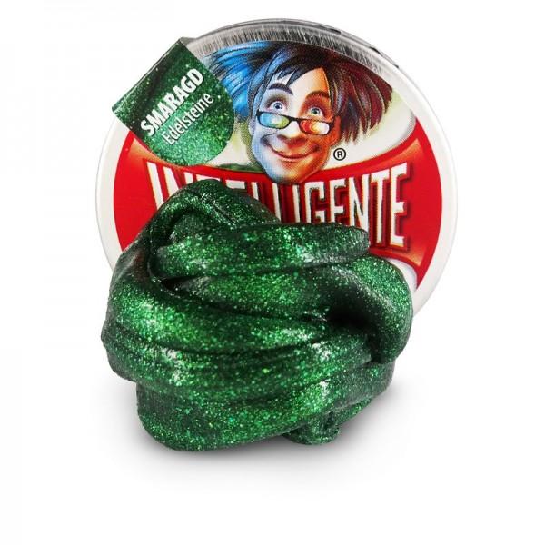 Intelligente Knete Klein Smaragd