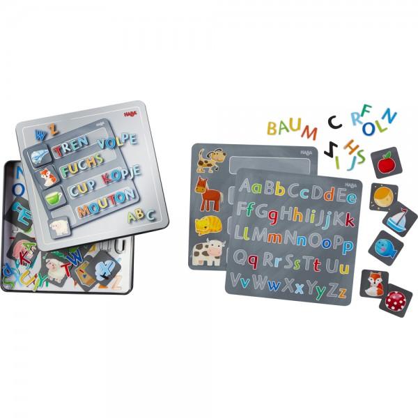 Magnetspiel-Box Buchstaben