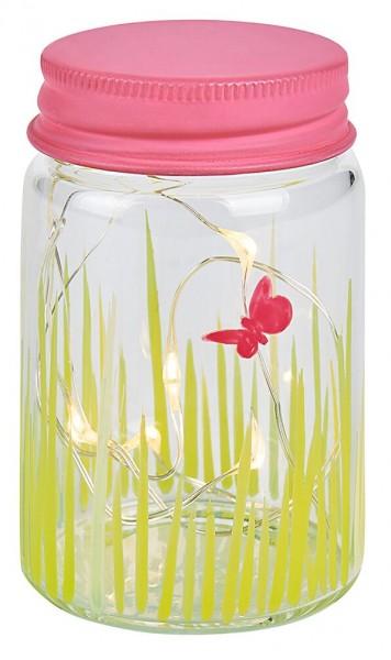Blatt & Blüte Kleines Gartenlicht (versch. Farben)