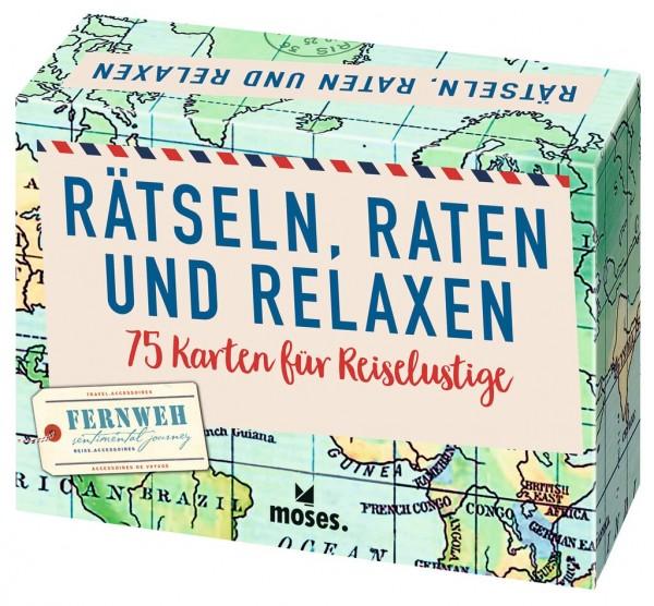 Rätseln, Raten und Relaxen: 75 Karten für Reiselustige