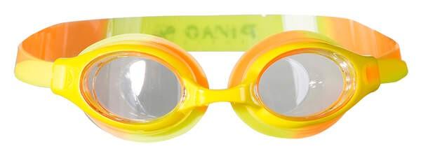 PIN Schwimmbrille für Kinder Orange / Gelb