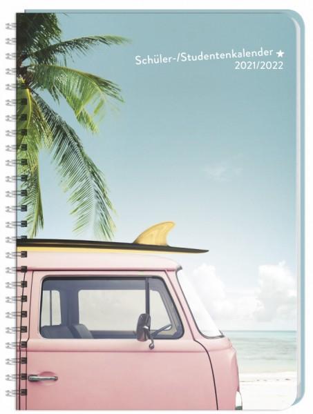 Palmen Schüler-/Studentenkalender A5 - Kalender 2022