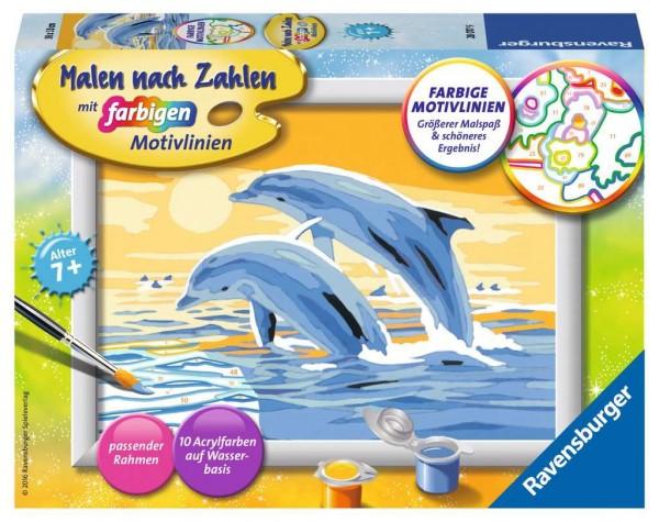 Malen nach Zahlen - Freunde des Meeres