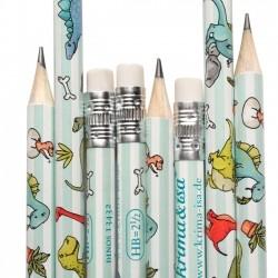 Bleistift Dinos