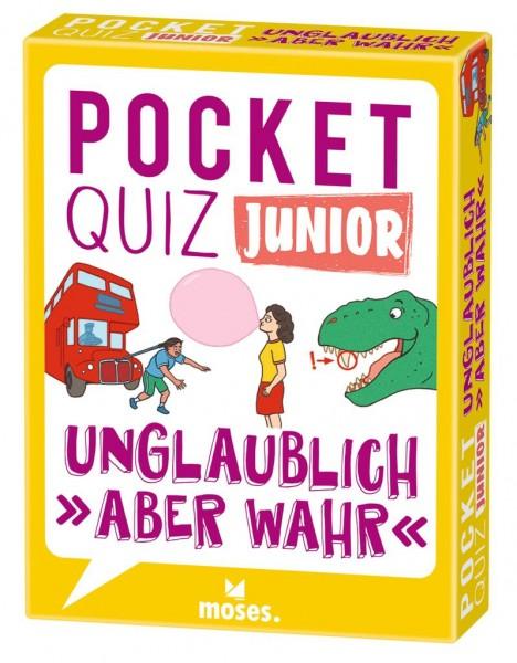 Pocket Quiz junior Unglaublich aber wahr