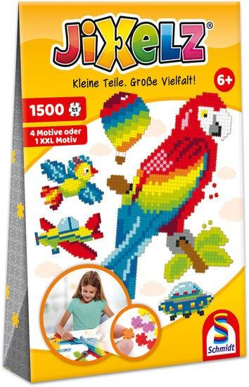JIXELZ Alles, was fliegt, 1.500 Teile