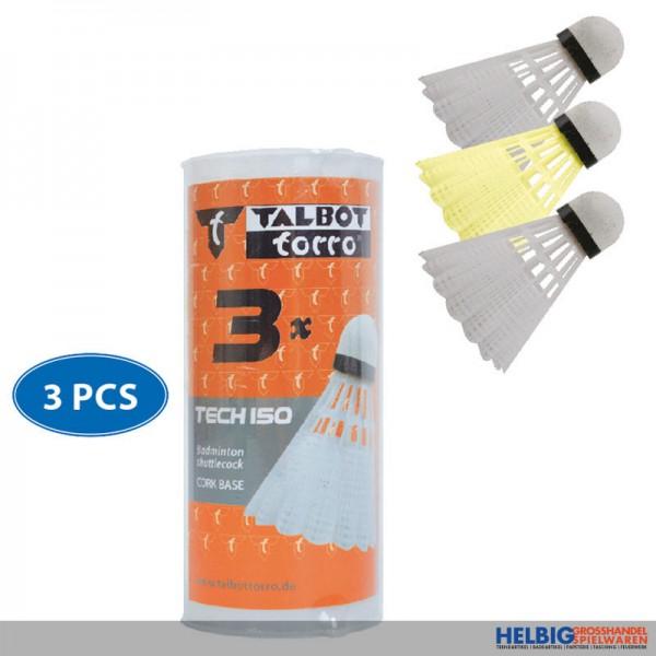 """Federbälle """"Talbot Torro Tec 150"""" 3er Pack"""
