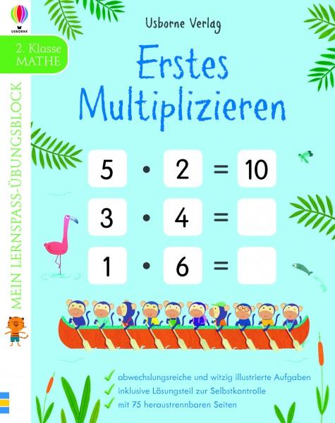 Mein Lernspaß-Übungsblock: Erstes Multiplizieren (2. Klasse)