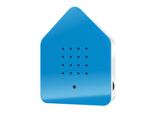 Zwitscherbox Blau