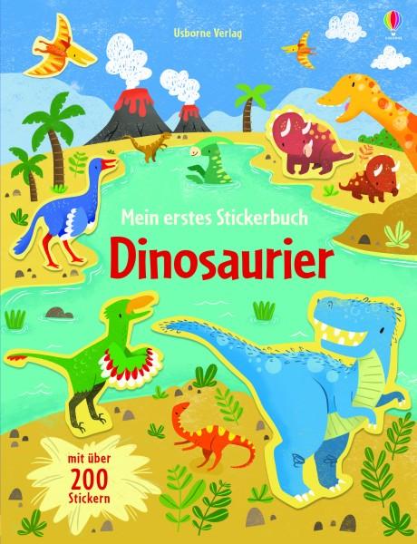 Hannah Watson, Mein erstes Stickerbuch: Dinosaurier