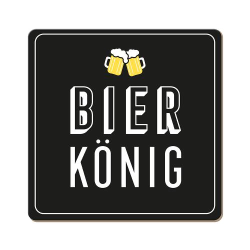 Korkuntersetzer Bier König