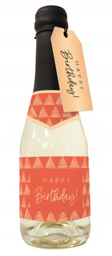 Beerenperlwein-Flasche 0,2l Happy Birthday!