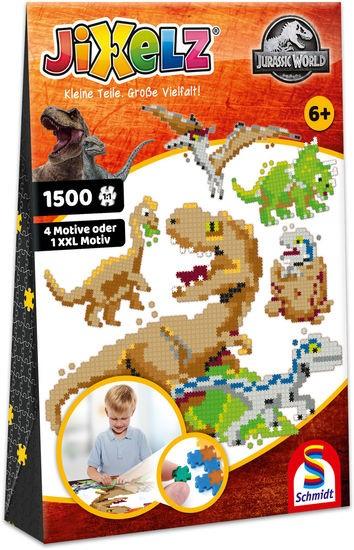 JIXELZ Jurassic World, 1.500 Teile