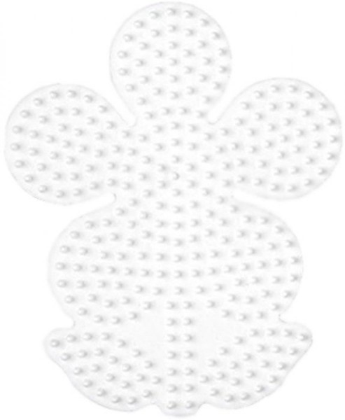 Hama® Bügelperlen Midi - Stiftplatte Blume