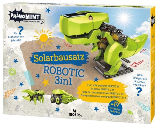 PhänoMINT Solarbausatz ROBOTIC 3 in 1
