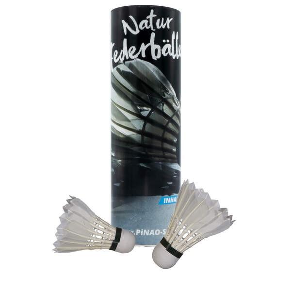 PIN Badmintonbälle aus Entenfedern